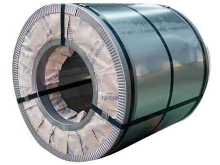 AISI 304 / 304L Stainless Steel Coil - AISI 304 / 304L stainless steel coil contains 8% of nickel and 18% of chromium.