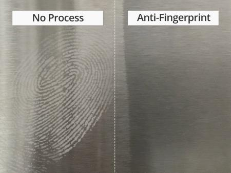 Anti-fingerprint Stainless Steel Sheet - Anti-Fingerprint Stainless Steel Sheet Manufactured by Pre-Painting Process.