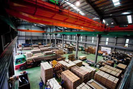 Stainless Steel Coil Center-Ready for Shipment.