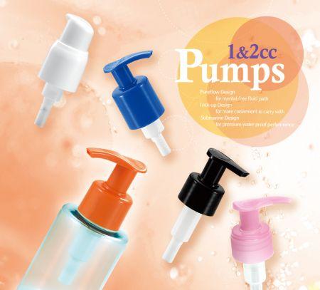 Pompe Pureflow - pompe gauche droite