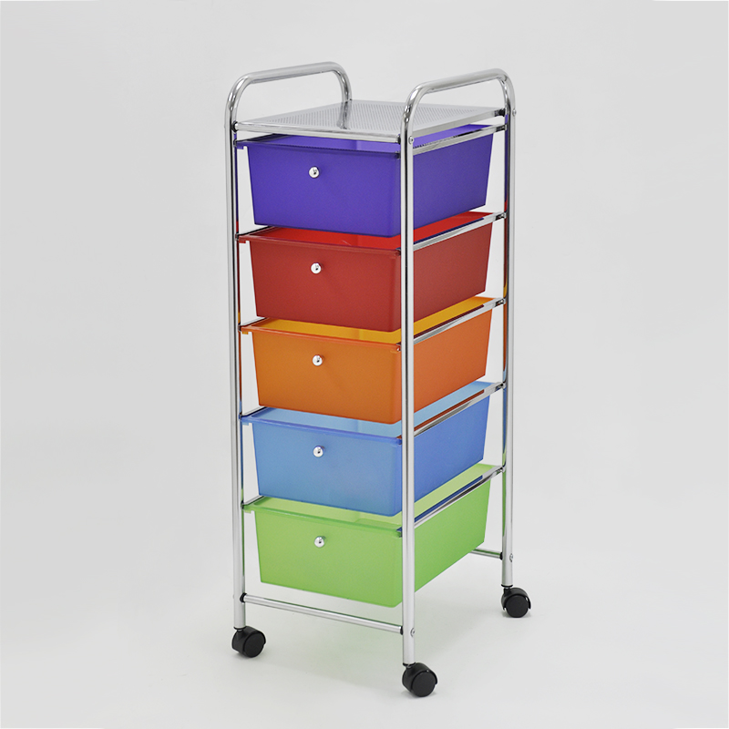 Colorful trolley make your day.