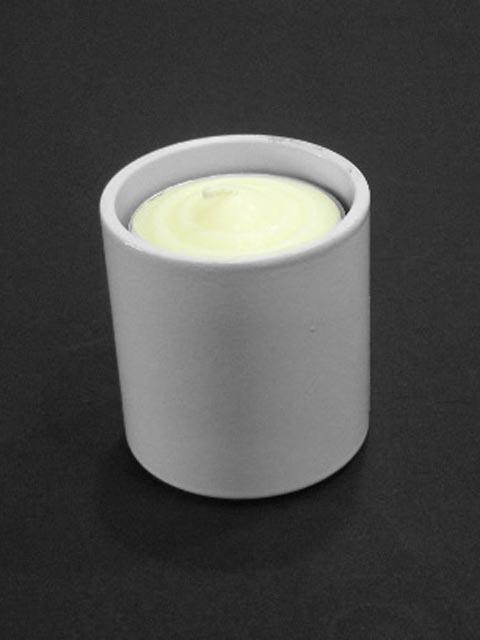 白色圓型燭台架