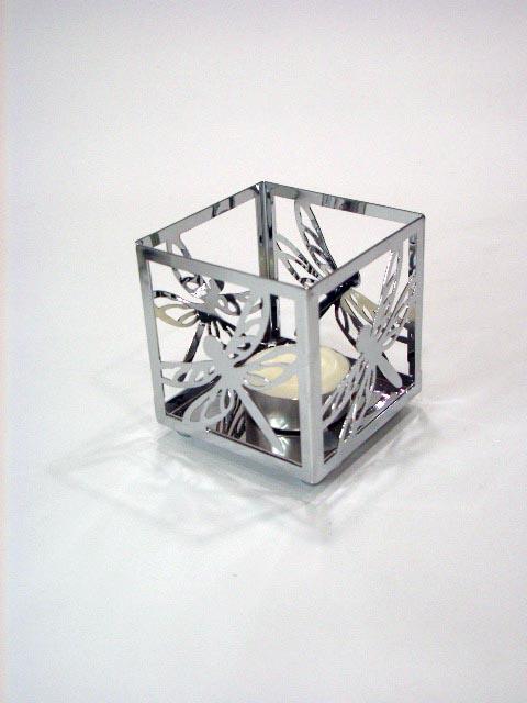 小四方青蜓造型燭台架