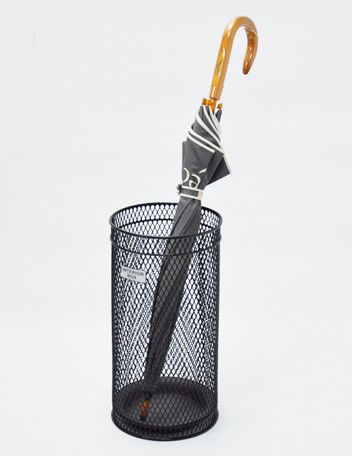 圓形鐵線洞洞雨傘桶