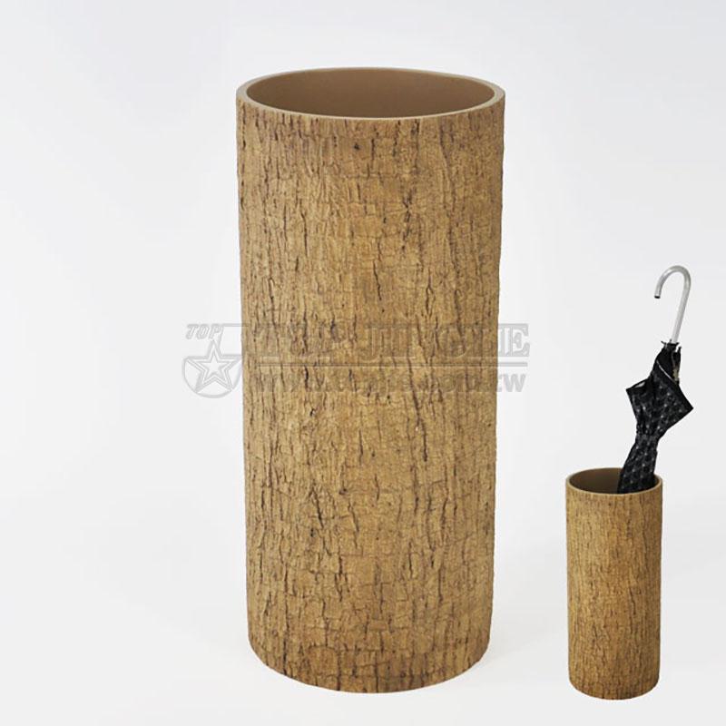 圓柱仿樹幹效果雨傘桶