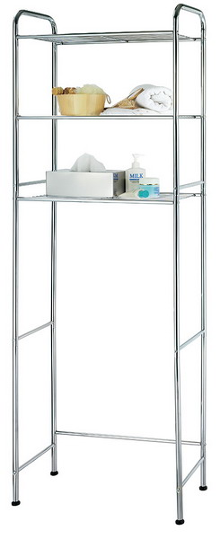 3 Tier Metal Tube Shelf