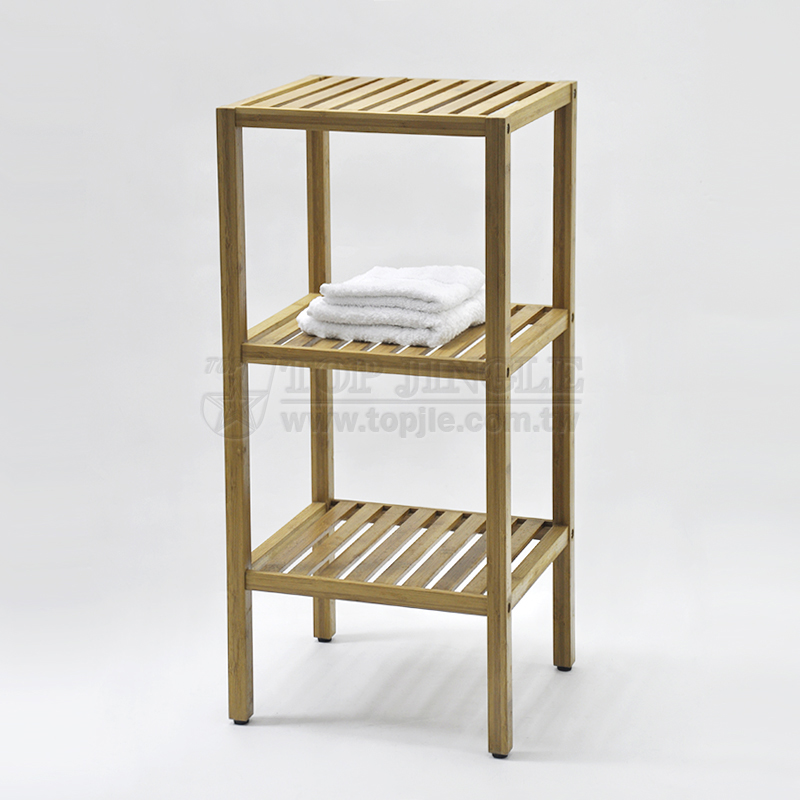 3 Tier Bamboo Bathroom Storage Shelf