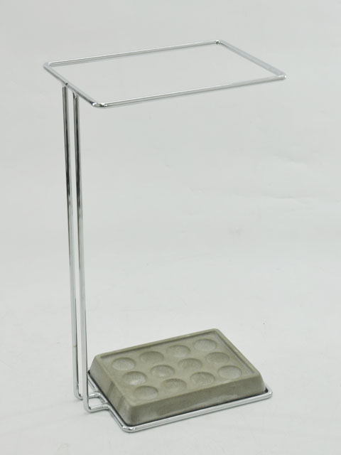 Chrome Plated Rectangle Wire Umbrella Stand