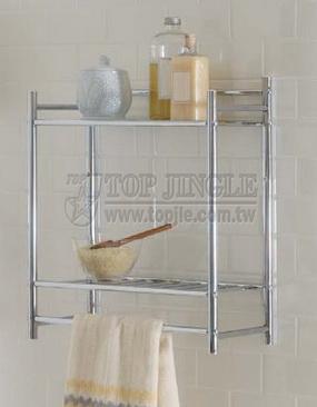 2 Tiers Metal Shelf
