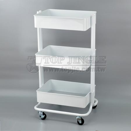 Cart with Mesh Trays