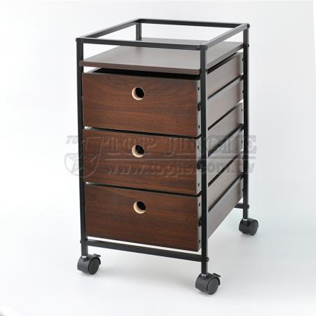 3-Tier Drawer Trolley
