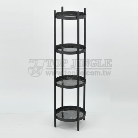 4 Tier Iron Floor Rack