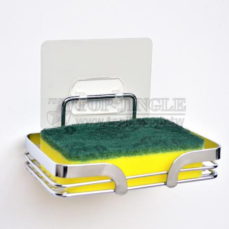 Stainless Adhesive Soap Dish