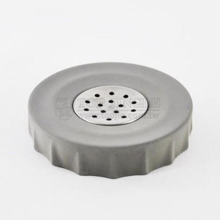 輕水泥圓形皺折造型肥皂盤