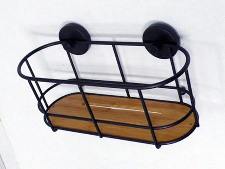 Wire Basket With Suction