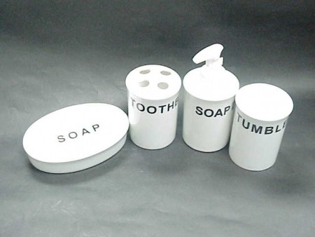 Font Ceramic Bath Set