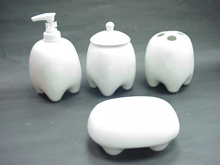 Tooth Shaped Bath Set