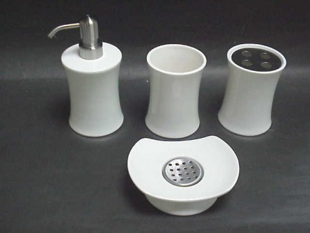 Ceramic Curve Bath Set