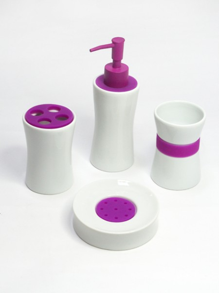 Cuved Shape Bath Set