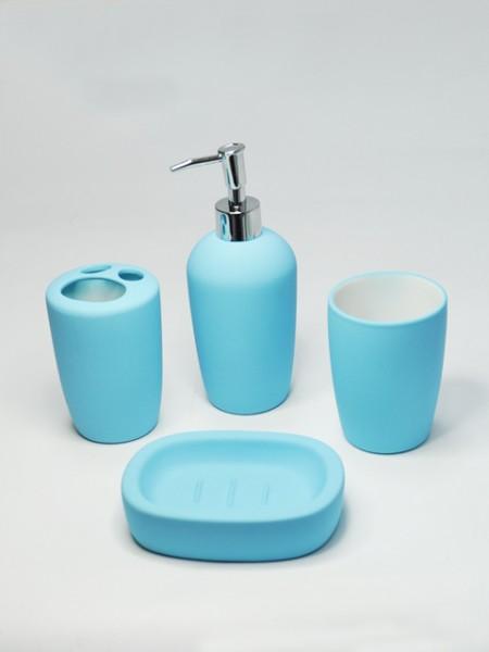 Mavi Seramik Banyo Takımı