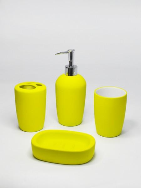 Sarı Seramik Banyo Takımı