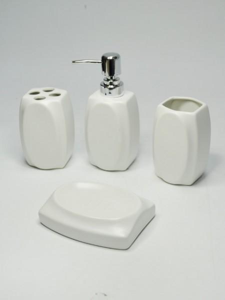 Seramik Altıgen Banyo Seti
