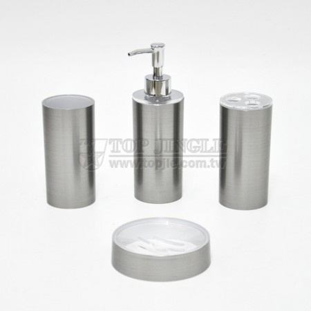 Brushed Printing Bathroom Set