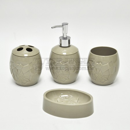 Eggshell Design Bath Set
