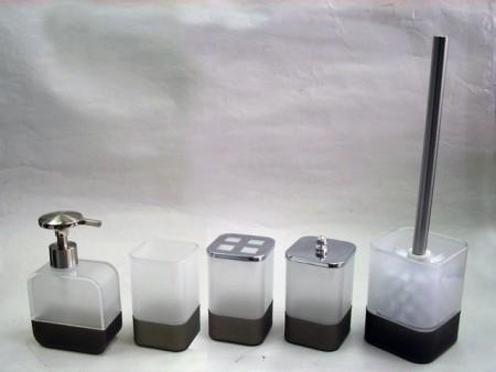 Плоский квадратный набор для ванной