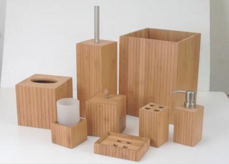 Square Shaped Bathroom Set