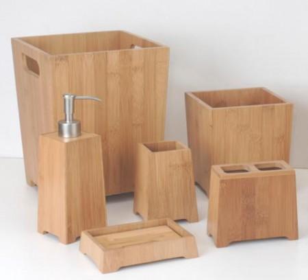 Pagoda Shape Bathroom Set