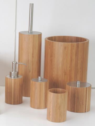 Набор для ванной в форме цилиндра