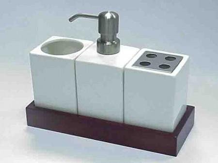 四方型設計衛浴三件組