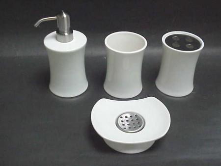 腰身造型陶瓷衛浴四件組