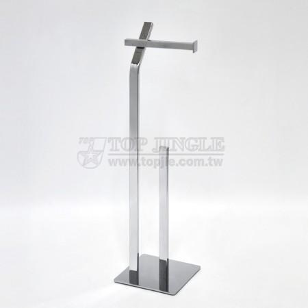 拐杖系列備用衛生紙架