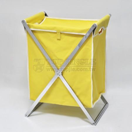 交叉扁鐵單格髒衣籃