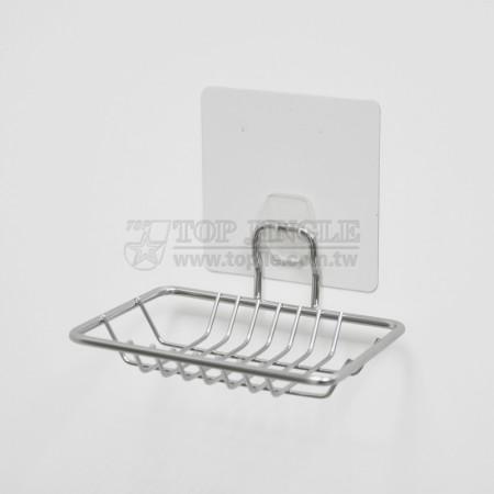 自黏系列鐵線肥皂盤架