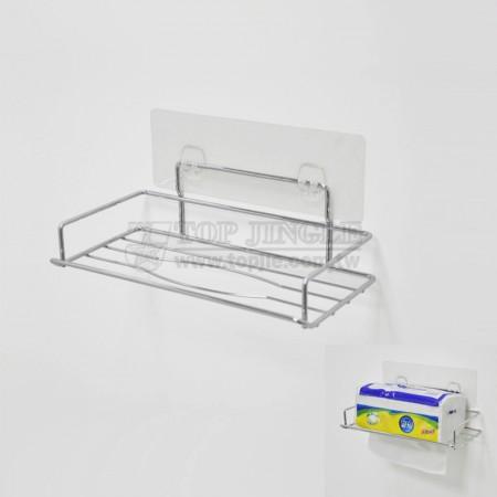 自黏系列鐵線衛生紙架