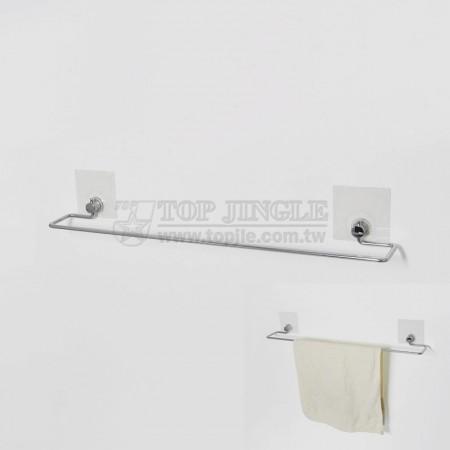 自黏系列鐵線毛巾架(小)