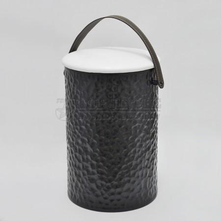垂花造型圓髒衣桶椅,手把