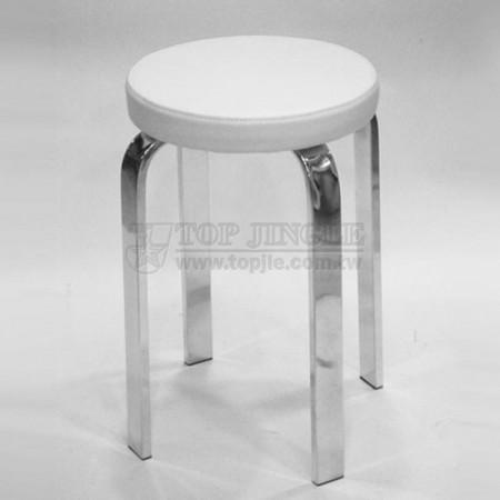 長方管圓型單椅