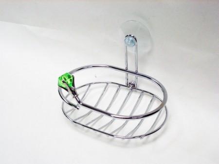 鑽石造型吸盤肥皂盤