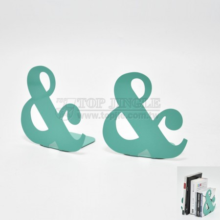 & Shape Bookends