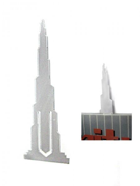 Зажим для закладки в форме башни