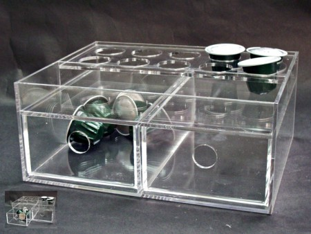 Capsule Holder with Drawers