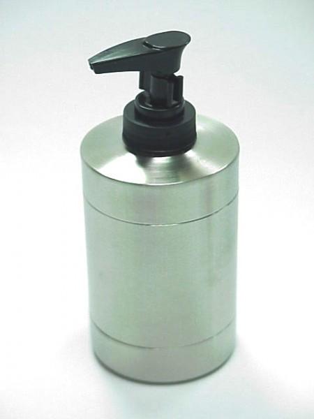 不鏽鋼圓柱型全霧乳液罐