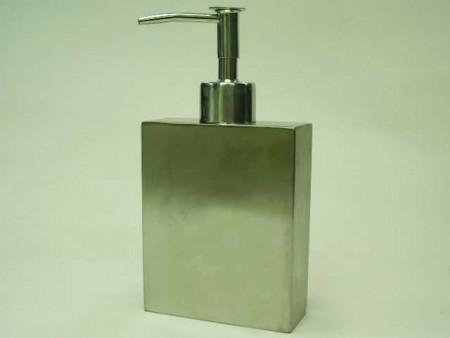 不鏽鋼砂面扁長方形小乳液罐