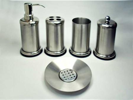 不鏽鋼大底座系列衛浴五件組