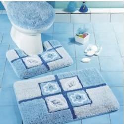 花拼布造型衛浴三件組