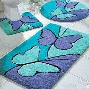 蝴蝶造型衛浴三件組
